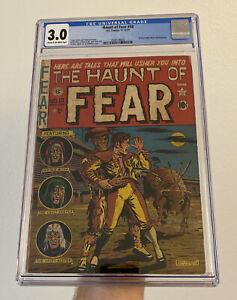 HAUNT OF FEAR #10 (EC COMICS 1951) CGC 3.0 CLASSIC PRE CODE HORROR!