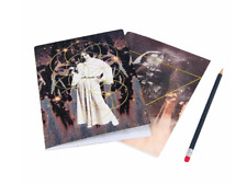Set of 2 Star Wars  A5 40 Page Lined Darth Vader / Princess Leia  Notebooks