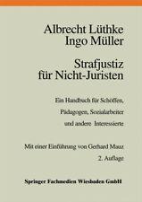 Strafjustiz für Nicht-Juristen: Ein Handbuch für Schöffen, Pädagogen, Sozialarbe