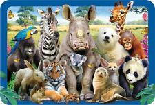 EuroGraphics Howard Robinson Rhino & Friends Selfie 3D Placemat