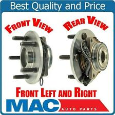 For 06-08 Ram 1500 4 W/ ABS 2 or 4 Wheel Dr 5 Stud 2 Wheel Bearing and Hub Pair