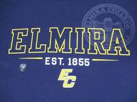 NWT CHAMPION ELMIRA COLLEGE SOARING EAGLES PURPLE LARGE T-SHIRT C1210