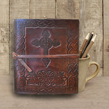 Handmade Leather Journal Diary Leather bound Sketchbook Notebook Gift Book