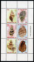 St. Maarten 2015 Muscheln Shells Meerestiere Postfrisch MNH