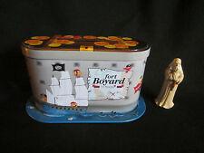 boite métal tirelire tin box fort boyard avec figurine père fouras
