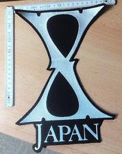 RARE X JAPAN WOVEN BACKPATCH DAVID BOWIE KISS TWISTED SISTER BLACK SABBATH IRON