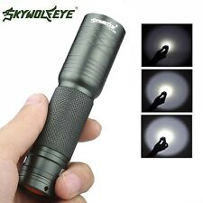 Mini Tactical Focus 10000LM 3-Mode T6 LED 14500 Battery Flashlight Torch Lamp