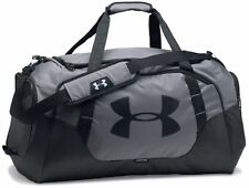 Under Armour * Undeniable 3.0 Large Duffel Bag Graphite Grey & Black COD PayPal