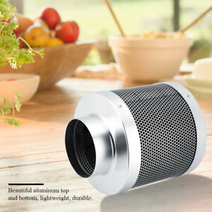 4 Inch 200mm Air Carbon Charcoal Filter for Odor Control Exhaust Inline Fan