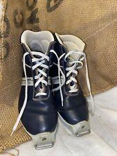 Eu 39 Women's Salomon Sns Ski Boots Xc Shoes Vintage