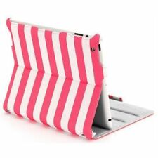 Griffin Pink Striped Cabana Journal Folio Case With Stand For iPad 2G | 3G | 4G