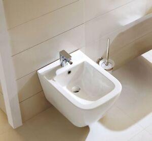 Wand-Bidet WHB-6028 Weiß 50x34,5cm Bidet Wandhängend Wandbidet Hänge-Bidet