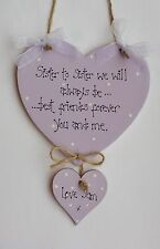 Wooden Sister Decorative Plaques & Signs