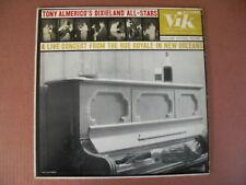 LP Record Tony Almerico's Dixieland All-Stars Dixie Festival Vol 1 1956 VIK MONO