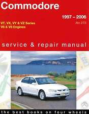 Holden Commodore VT VX VY VZ Series 1997-2006 Gregorys Repair Workshop Manual