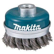 Makita D-29290 - Spazzola metallica 100 millimetri tazza  M14 a  treccia