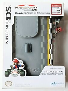 NINTENDO DS, DS lite & 3DS MARIOKART Accessory System case + Stylus NEW RRP-£19