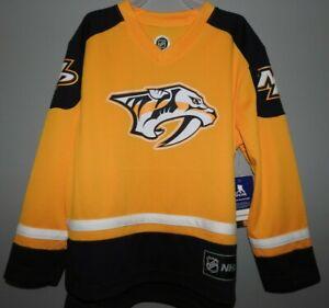 NHL Nashville Predators #9 FORSBERG Hockey Jersey New Youth Sizes