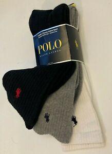 NWT Big & Tall polo Ralph Lauren Socks Sport performance 3,5,6 packs Reebok HB