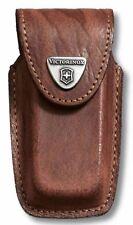Victorinox Fodero Originale Custodia Pelle Nera per Coltello da 93mm 91mm 84mm L