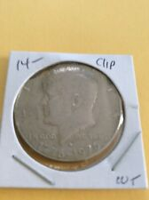 Error Coin: 1976 Kennedy Half Dollar Clipped Planchet Mint Error      (196-141)