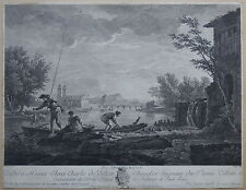 Originaldrucke (bis 1800) aus Frankreich mit Landschaft