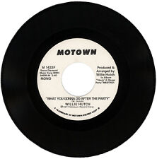 """WILLIE HUTCH  """"WHAT YOU GONNA DO AFTER THE PARTY""""   DEMO  MOTOWN LISTEN!"""