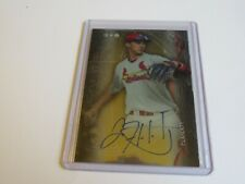 2014 BOWMAN STERLING JACK FLAHERTY AUTO ROOKIE CARD CARDINALS