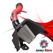 2011-2014 FORD MUSTANG V6 3.7L 3.7 AF DYNAMIC COLD AIR INTAKE KIT RED