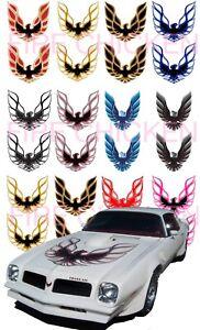 Pontiac Firebird water slide decals 1/24, 1/32 or 1/43 scale model car, slot car