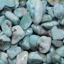 LARIMAR BEADS NUGGET BEAD 8MM -- 15MM FREE FORM  NUGGETS OR LARGE CHIPS