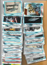 """STAR WARS """"THE EMPIRE STRIKES BACK"""" SERIES II NEAR SET - 116 CARDS OF 132 CARDS"""