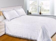 Mantas de color principal blanco 100% algodón