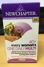 New Chapter Every Woman's One Daily 40+ Multivitamin 48 Tablets NEW
