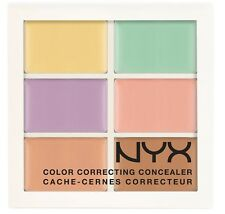 NYX Conceal Correct Contour 3cp02 Medium 6 Shades Cream Based Concealer