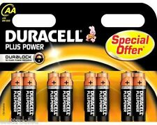 80 batterie stilo AA DURACELL PLUS POWER duralock LR6 mn1500 10 bl da 8 pezz