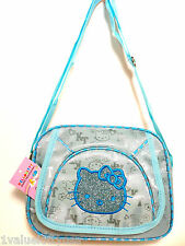 Hello Kitty Blue Messenger Shoulder Bag Great Gift Idea  **US SELLER**