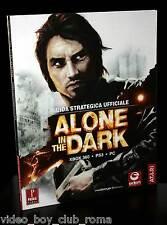 ALONE IN THE DARK GUIDA STRATEGICA UFF USATA ITALY PC PS3 XBOX 360 WII FR1 30007