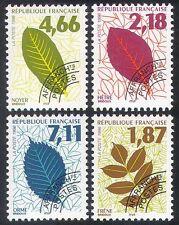 France 1996 (1994) Leaves/Trees/Plants/Nature/Pre-cancel 4v set (n40251)