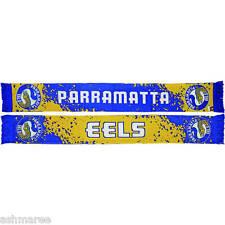 NRL Parramatta Eels Splash Design Jacquard Supporter Scarf
