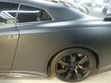 MATT MATTE - GREY FINISH VINYL CAR WRAP - VARIOUS SIZES - AIR BUBBLE FREE