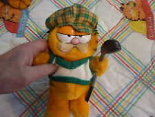 "Garfield Plush Toy ""Garfield Dressed as Golfer"""