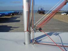 LASER DINGHYSPARES - Mast base fitting for leading control lines aft - FREE POST