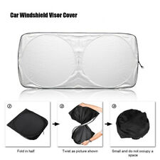 Car Folding Jumbo Front Window Sun Shade Visor Windshield Block Cover Sunshade