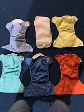 Lot of 5 BumGenius Pocket Diapers- Liners