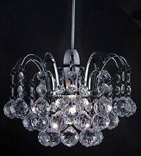 Lustre style plafond pendentif Lightshade boule goutte acrylique perles cristal