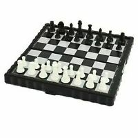 Magnetic Travel Chess Set With Folding Chess Board Educational Toys For Kids _UK