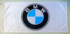 BMW FLAG WHITE - SIZE 150x75cm (5x2.5 ft) - BRAND NEW