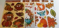 FALL Window Clings Assortment  #1 [Your Choice]