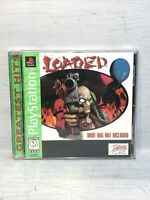 Loaded PS1 game Greatest Hits! (Sony Playstation 1) Complete
